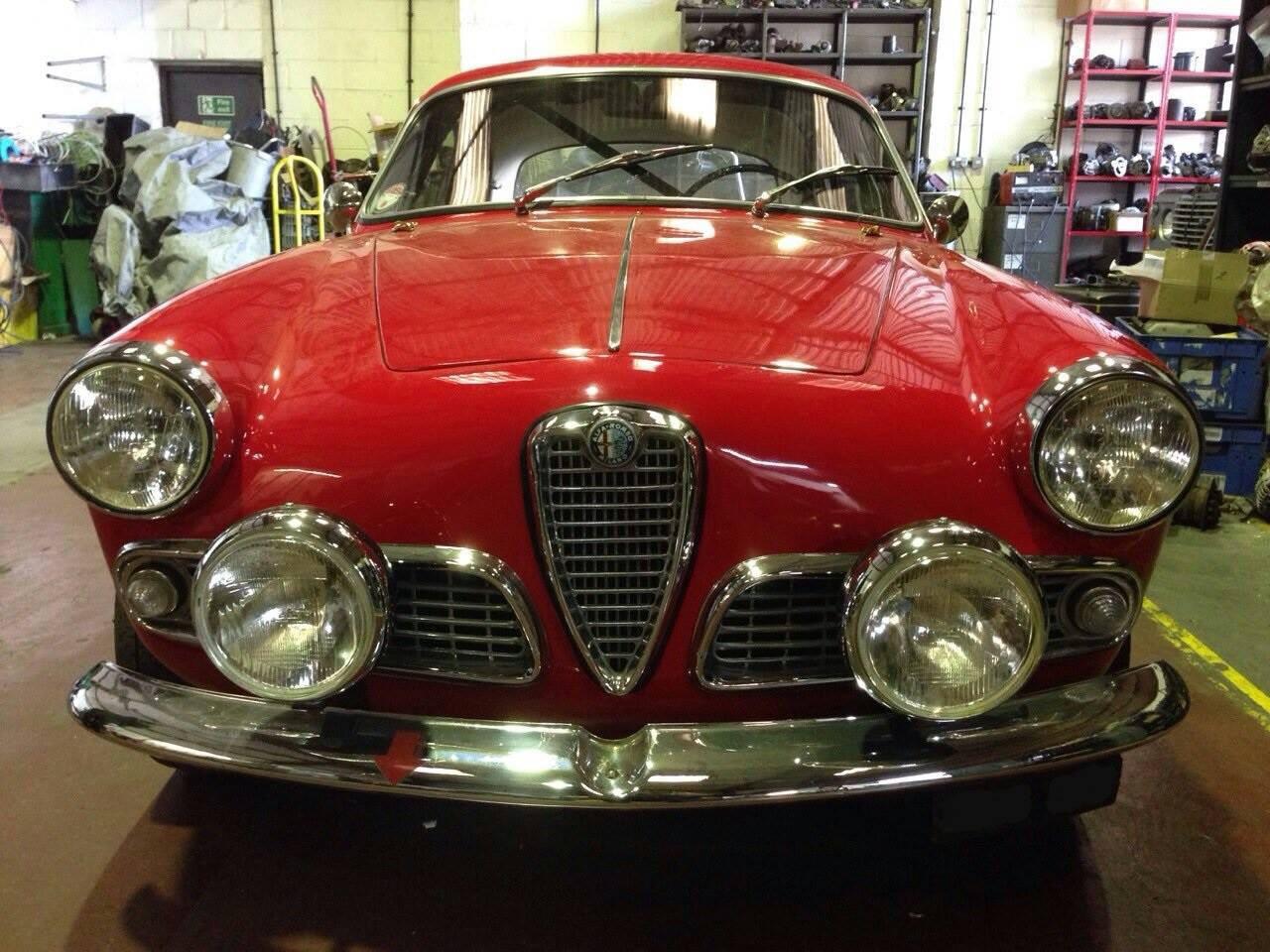 Classic Alfa Romeo charging circuit