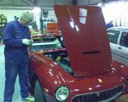 Classic Ferrari electrical systems