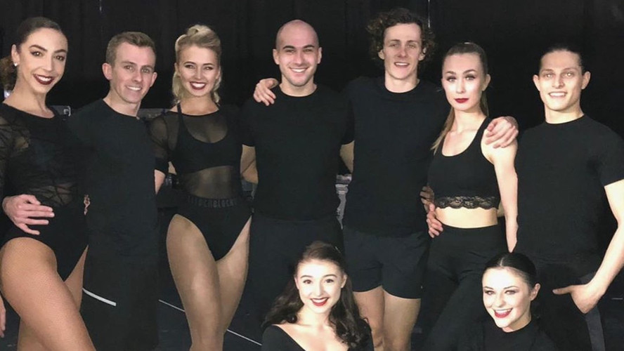 Tommy Wade Smith finale dancers