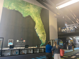 CollegeMAKERS students visit Challenger Learning Center