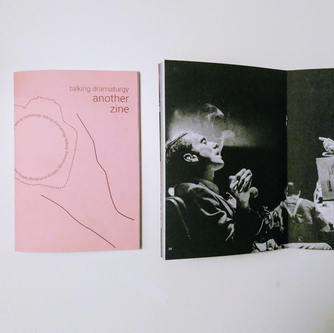 Talking Dramaturgy : Another Zine (Author)