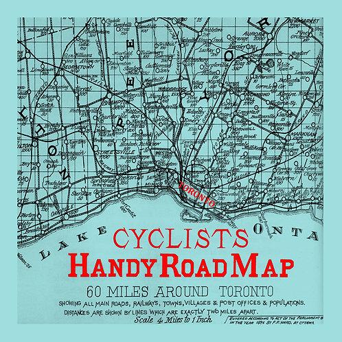Toronto Cycling Map