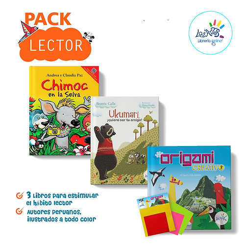 Pack lector creativo