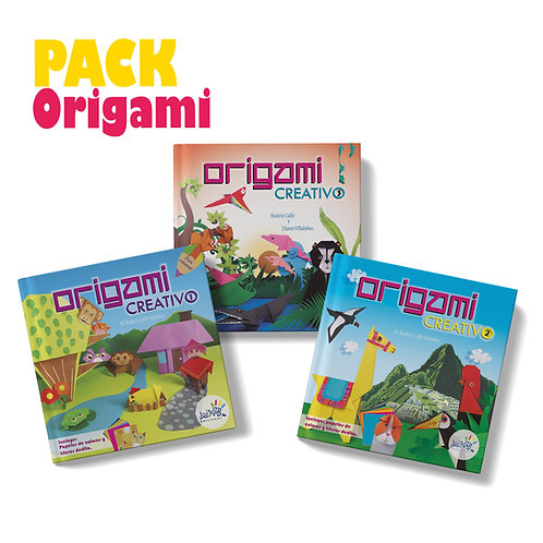 Pack Origami Creativo x 3