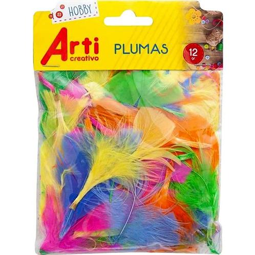 Plumas arti creativo