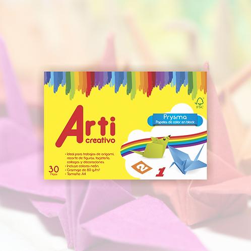 Papel de colores  para hacer origami