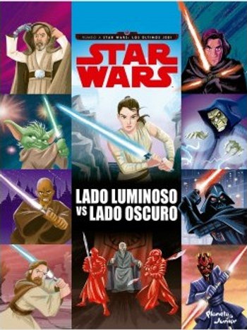 Star Wars, lado luminoso vs lado oscuro