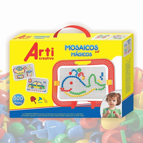 Mosaicos mágicos Pegs  x 500