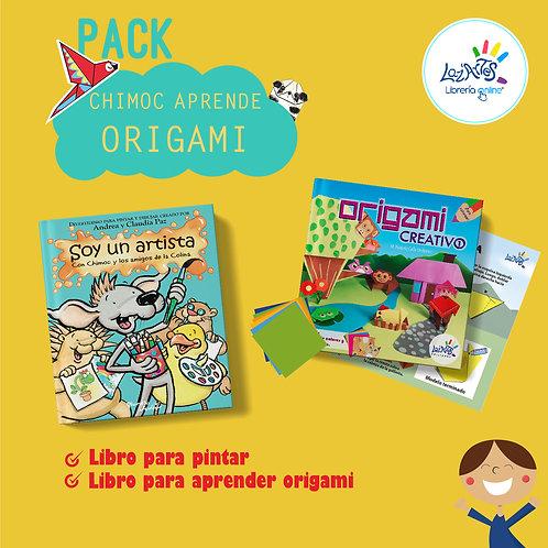 Pack chimoc aprende origami