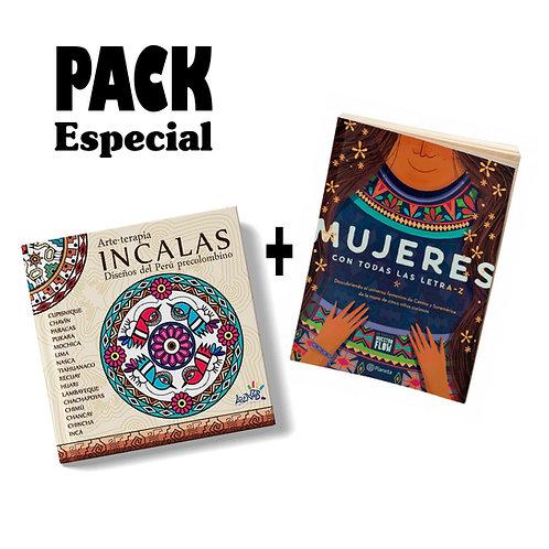 Pack especial / Incalas + Mujeres con todas las letra-z