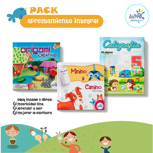 Pack aprestamiento integral