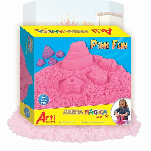 ARENA  MÁGICA  PINK FUN