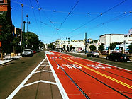 Transit Lanes in San Francisco