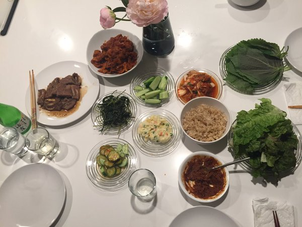 Korean at home