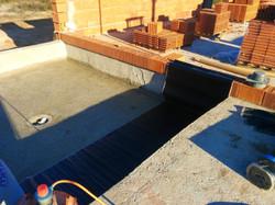 Impermeabilización del patio