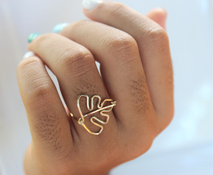 Monstera Ring