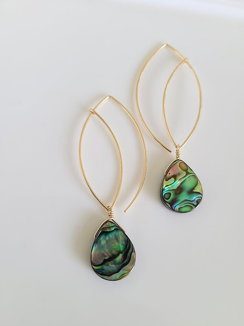 Double leaf abalone drops