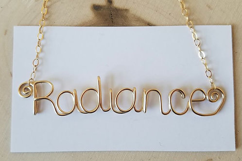 Smooth Edition Name Necklace
