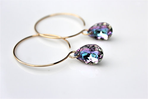 Sparkle Hoops (Purple Hues Edition)
