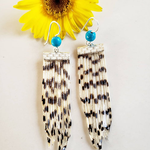 Lionfish Earrings Turquoise Edition