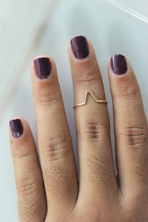Minimal Art Ring