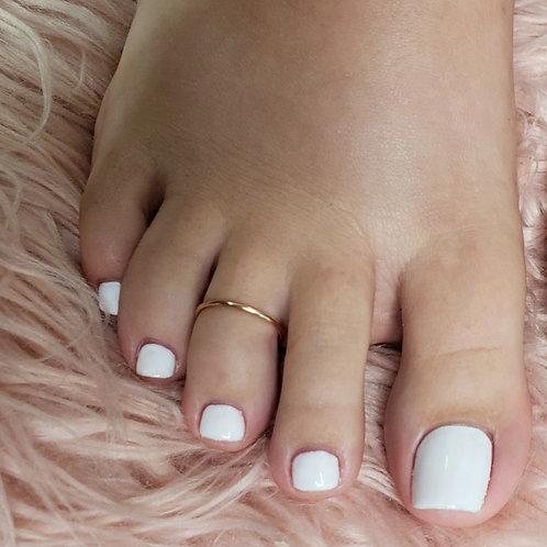 minimal toe ring
