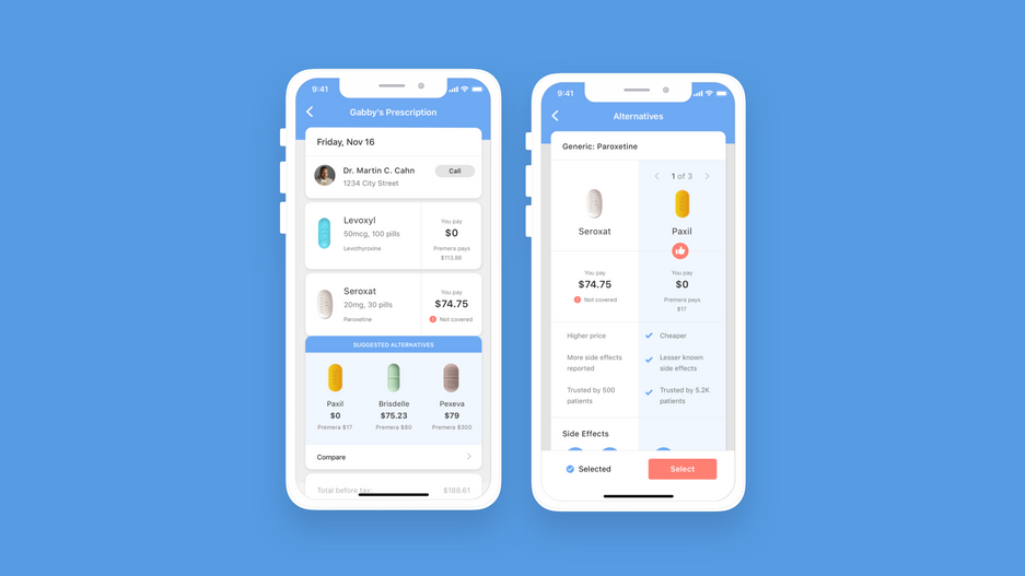 Smart Rx App Design