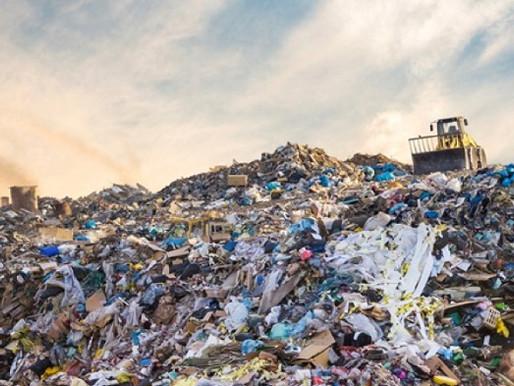 Descarte de resíduos sólidos no Brasil.