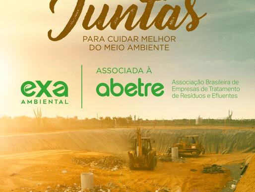 A EXA Ambiental agora é associada à Abetre !
