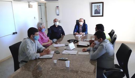 SEDUR: Secretário recebe proposta de termo de intenção para resíduos sólidos