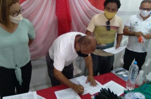 JAGUARARI: assinada a carta para criação do CRV no município.
