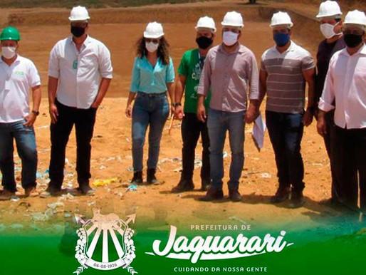 SECRETÁRIOS MUNICIPAIS ESTUDAM FORMAS DE RESOLVER O PROBLEMA DOS LIXÕES DE JAGUARARI.