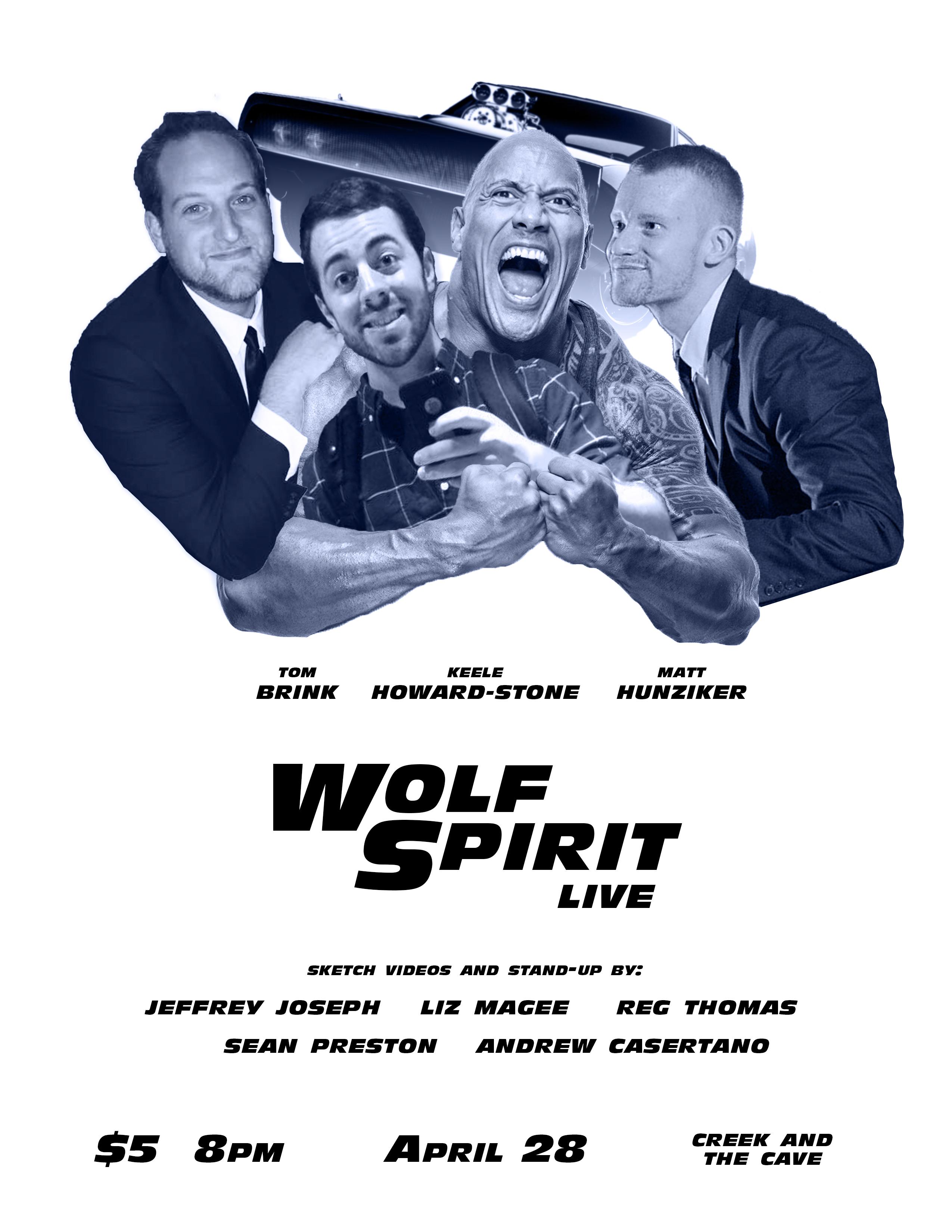 Wolf Spirit Live 4/28