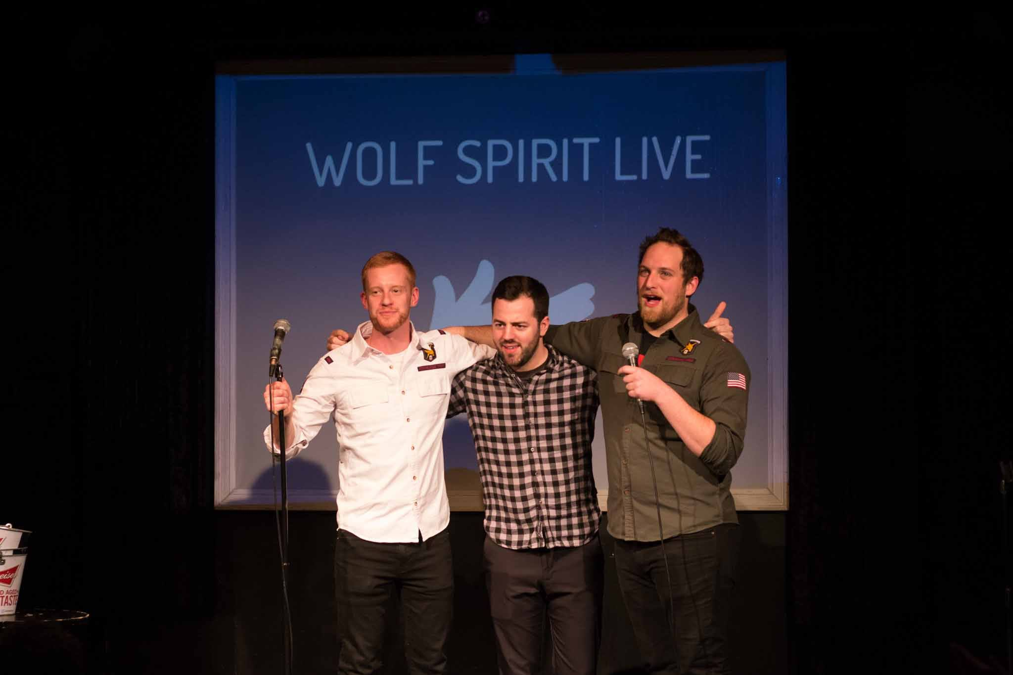 Wolf Spirit Live - Tom Matt Keele