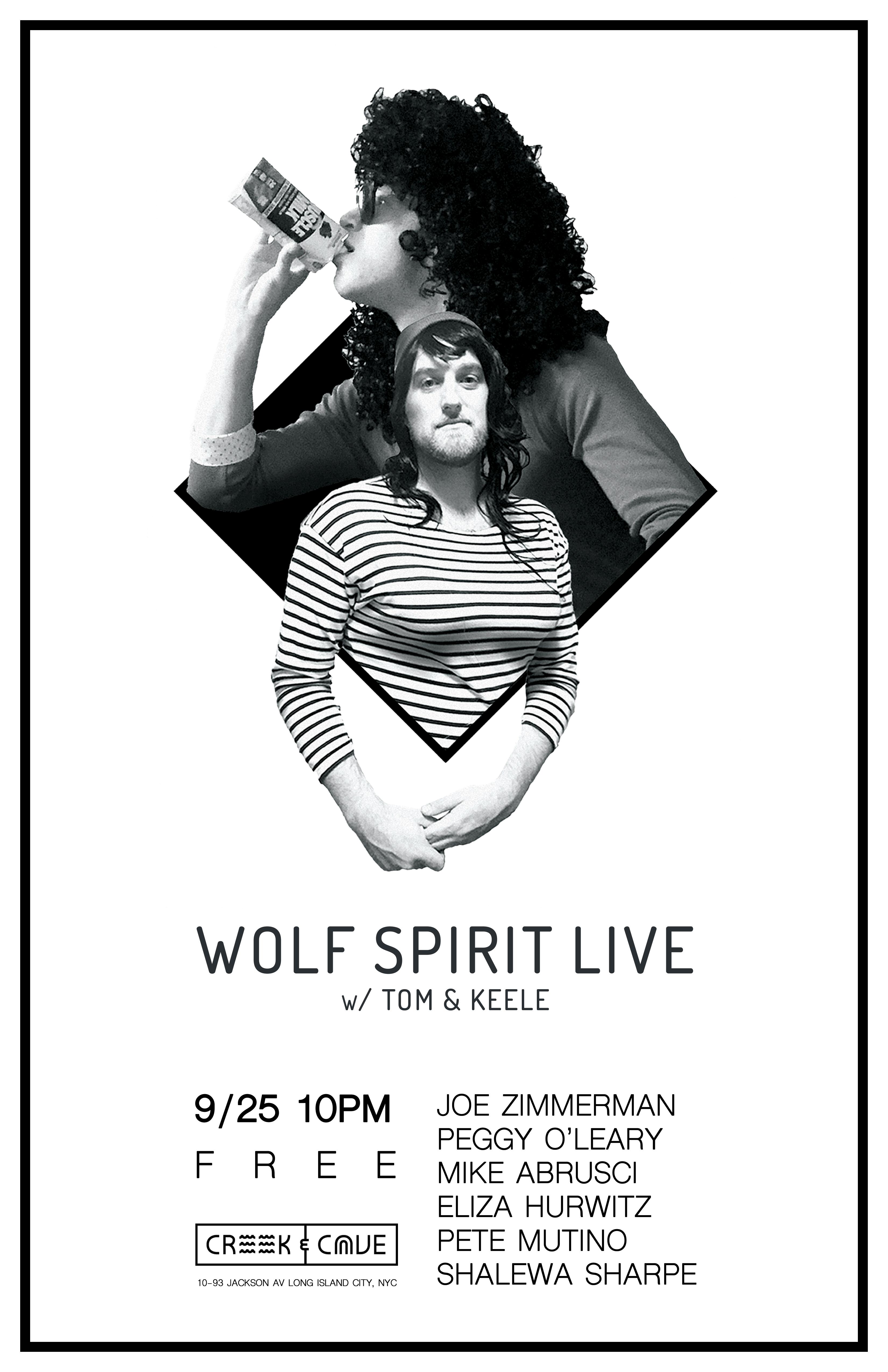 Wolf Spirit Live 9/25