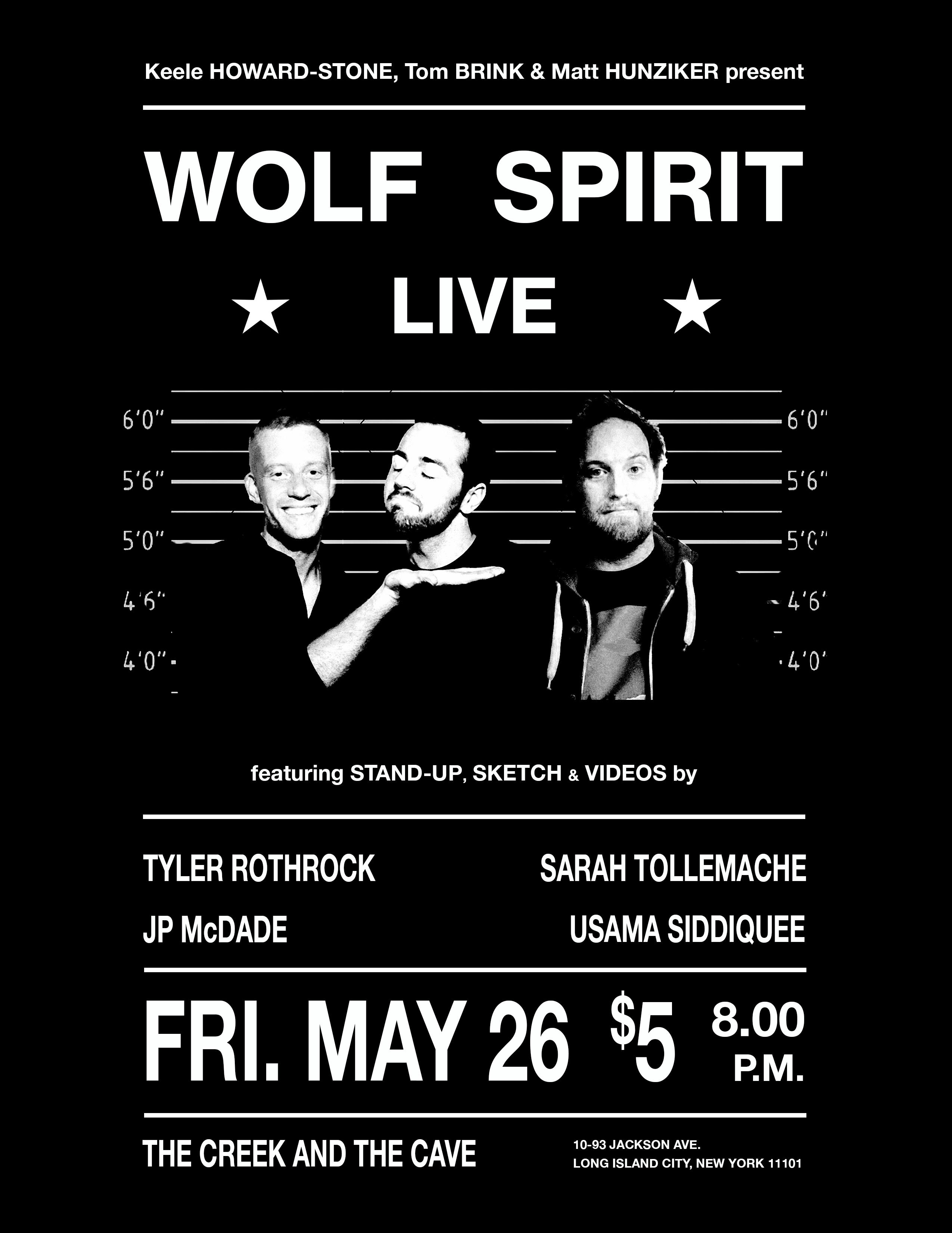 Wolf Spirit Live 5/26
