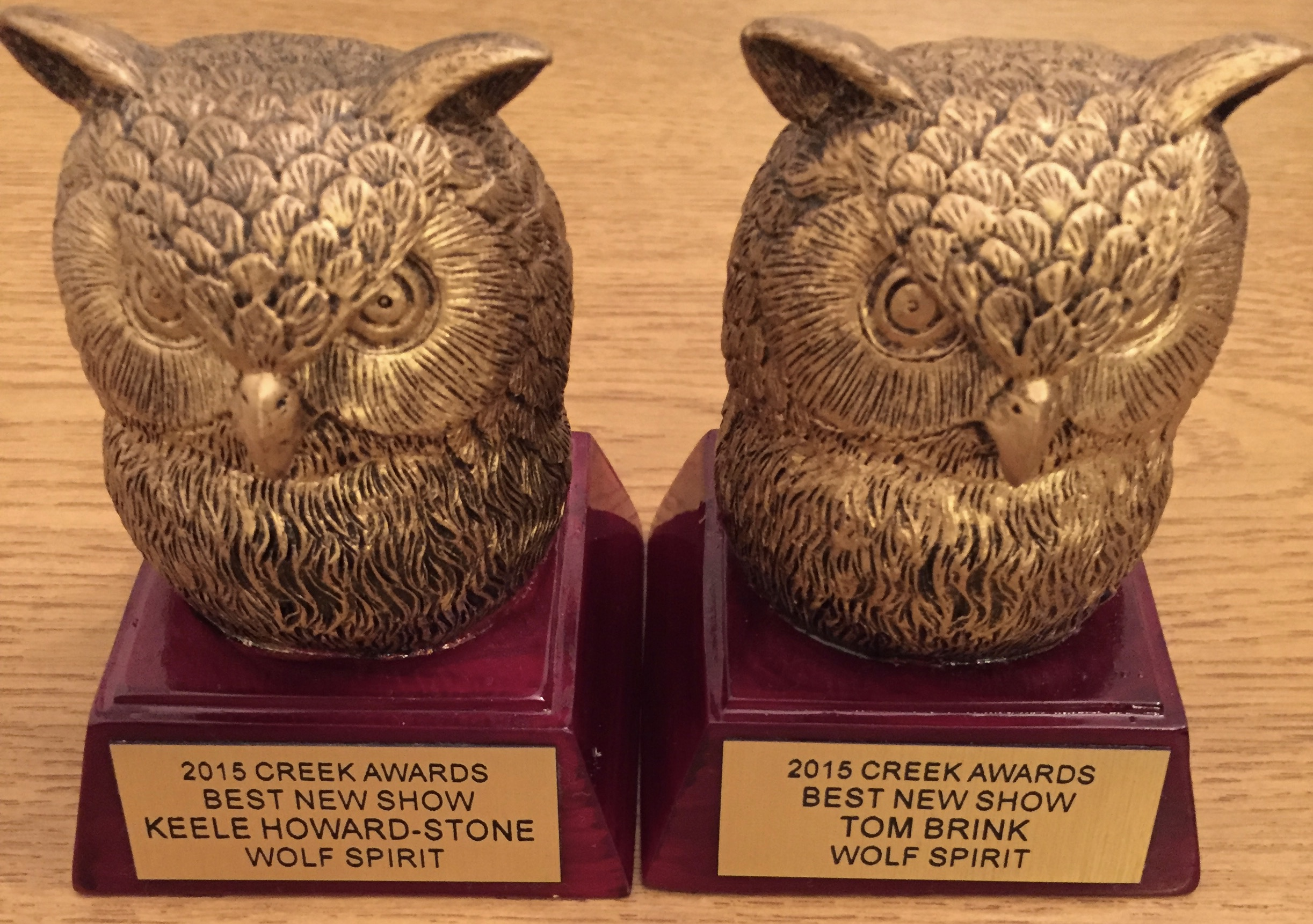 2015 Creek Awards