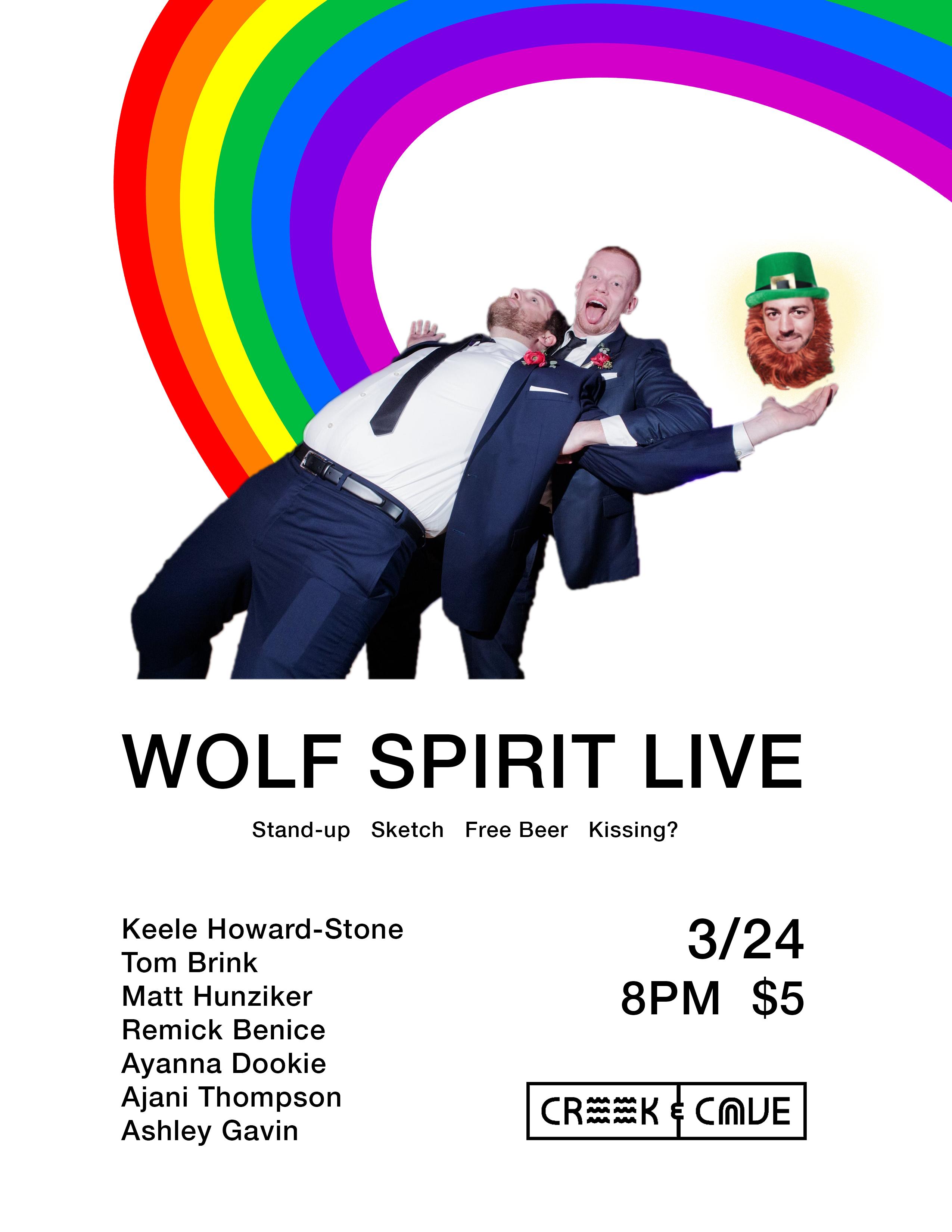 Wolf Spirit Live 3/24