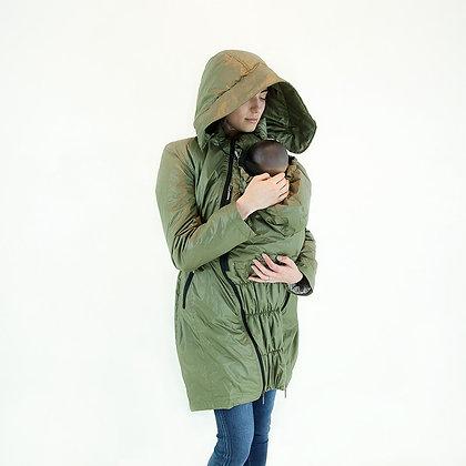 Mid-Season Babywearing Coat (Olive)