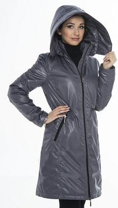 Mid-Season Babywearing Coat (Silver)