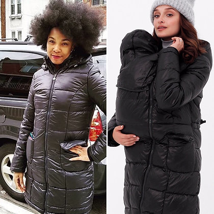 Midnight Mama - Babywearing and Maternity Winter Coat