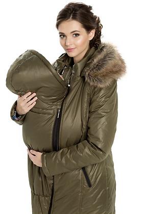 UltraMa Winter Babywearing Coat (Olive)