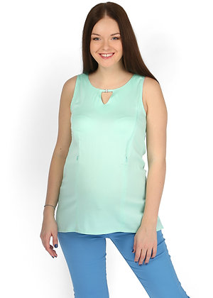 Mint Maternity and Nursing Top