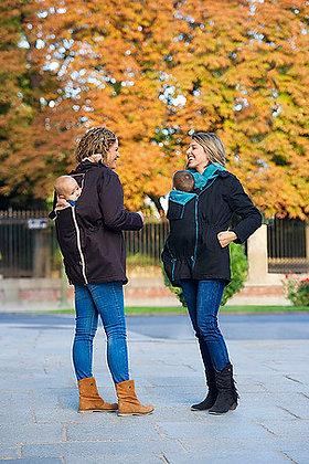 Midseason Babywearing Parka (Front & Back)