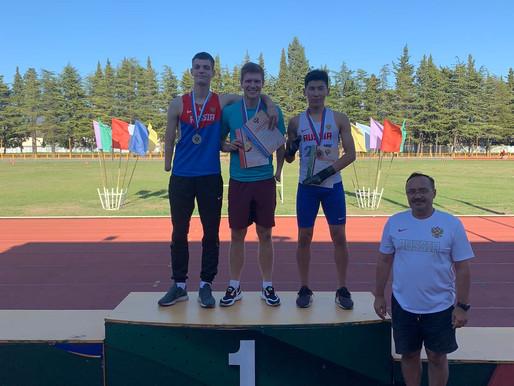 Спортсмены школы завоевали 13 медалей на Чемпионате России по лёгкой атлетике среди лиц с ПОДА