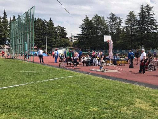 Спортсмены школы завоевали медали на ВС по метаниям