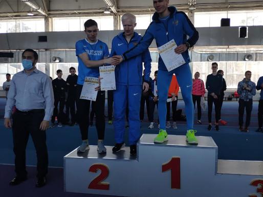 Спортсмены школы завоевали 13 медалей на Всероссийских соревнованиях по лёгкой атлетике