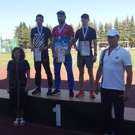 Южноуральские спортсмены завоевали 21 медаль на Чемпионате России по лёгкой атлетике