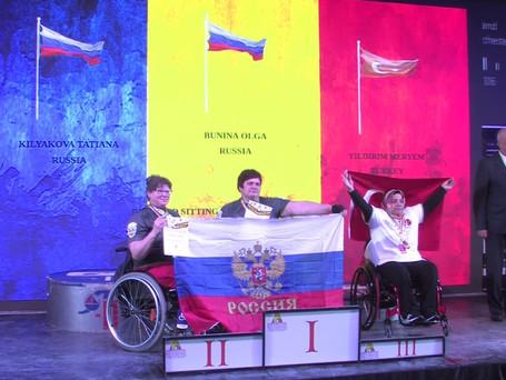 Бунина Ольга стала Чемпионкой Мира по армрестлингу 2019