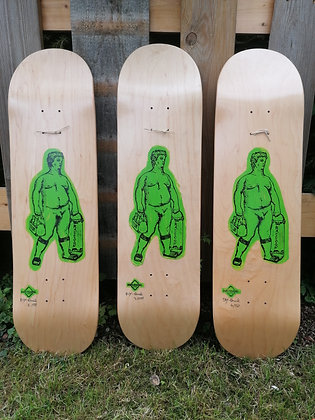 """DRUNKENSTEIN"" Skateboard (Hand bedruckt)"